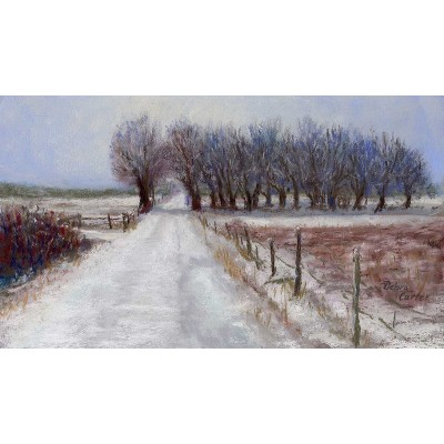 The Way Home - Pastel  by Debra Kay Carter SOLD